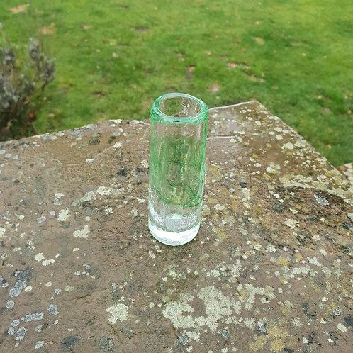 Green Crackle Single Vase