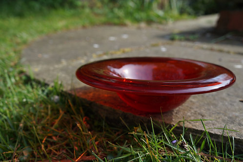 Cherry Red Bowl