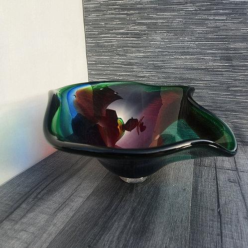Rainbow Fluid Bowl