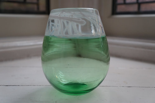 Small Reseda Green Incalmo Vase