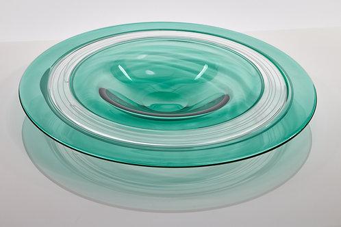 Double Incalmo Plate in Anna Green