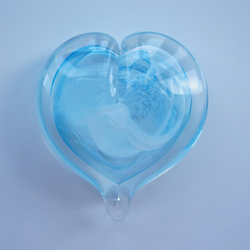 Large Glass Heart