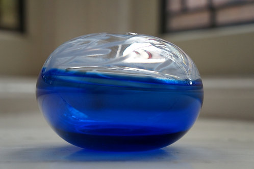 Small Sari Blue Incalmo Vessel