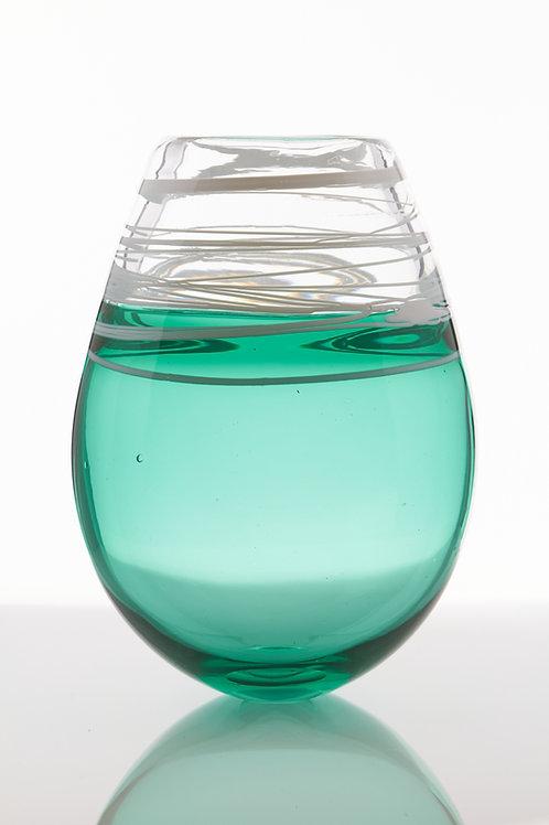 Large Incalmo Anna Green Vase