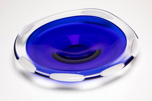 Sari Blue Incalmo Plate
