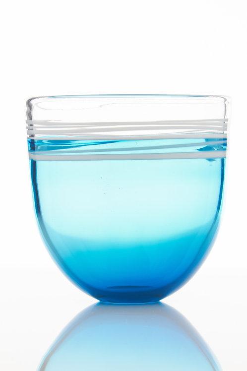 Small Incalmo Capri Blue Cup