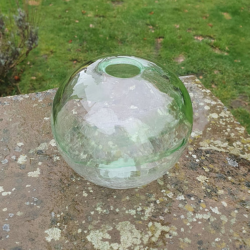 Green and Crackle Orb