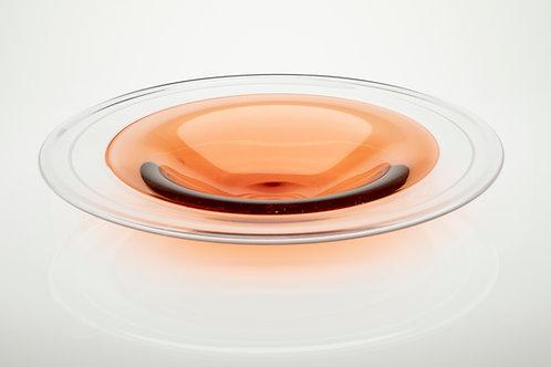 Large Aurora Red Incalmo Plate
