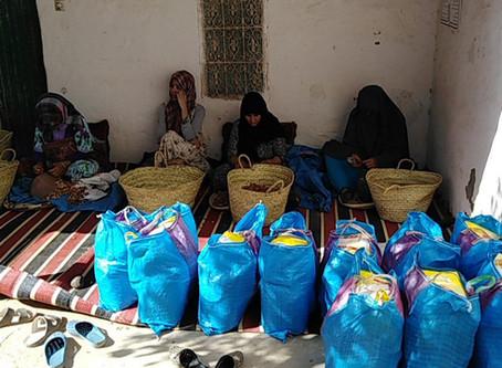 Marocavie - Distribution des paniers alimentaires