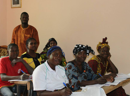 Centres d'alphabétisation au Burkina Faso