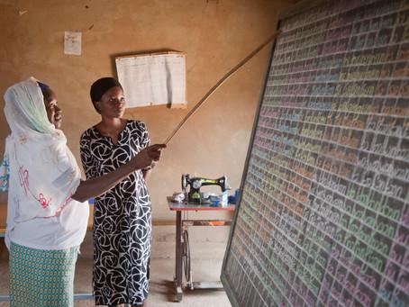 Campagne d'alphabétisation 2020 au Burkina Faso