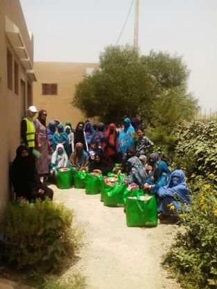 Food distribution 2017