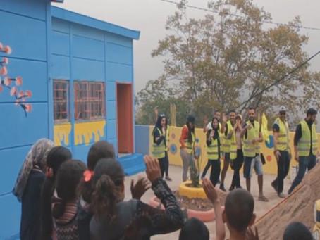 Marocavie - Aménagement de l'école El Adarissa Amoulasse