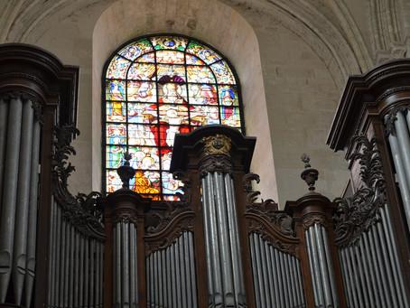 Inauguration de la restauration du Grand Vitrail de l'Abbaye de la Sainte-Trinité