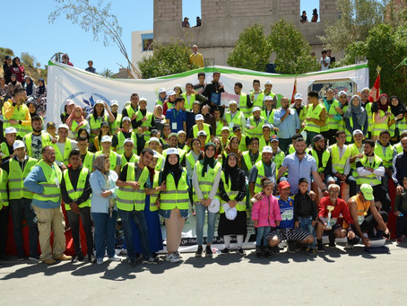 Marocavie - Organisation of a marathon on the road to Aourir