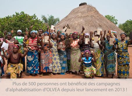 Campagne d'alphabétisation au Burkina Faso