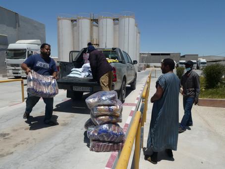MauritaVie - Distribution of solidarity baskets