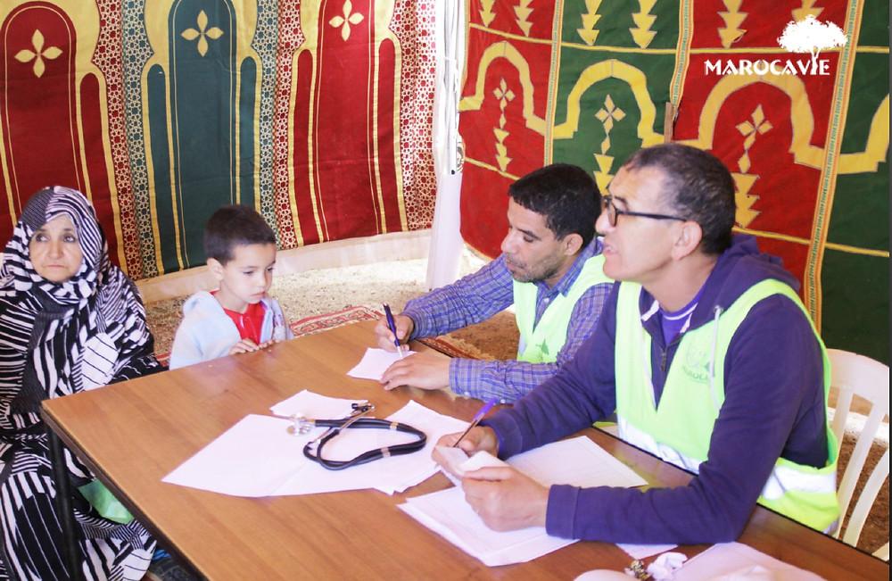 Caravane médicale Marocavie avril 2018