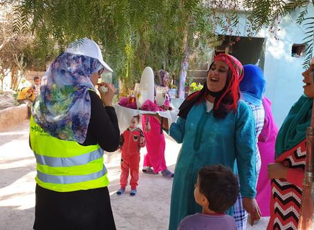 Marocavie - Équipement des centres de concassage de noix d'Argan