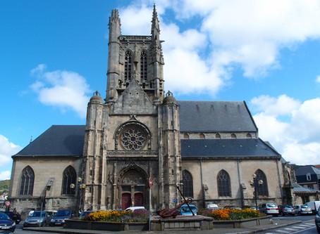 Restoration of the church Saint-Étienne in Fécamp
