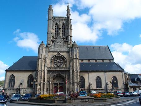 Restauration de l'Église Saint-Étienne de Fécamp