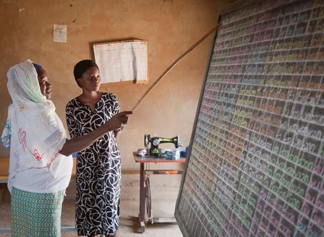 2020 literacy campaign in Burkina Faso