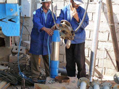 Installation of a pumping system - Marocavie
