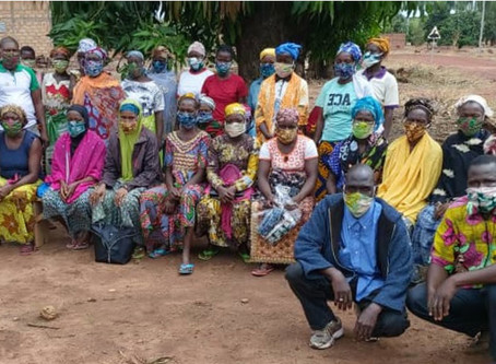 Burkina Faso: distribution of fabric masks
