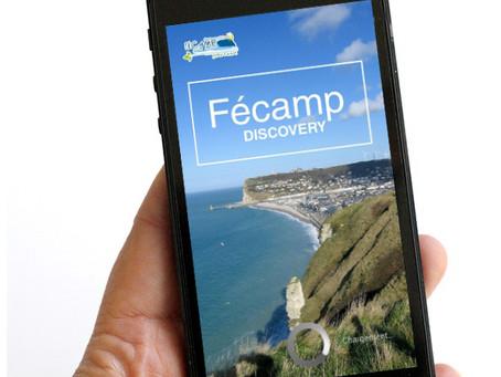 Mobile app - Fécamp Discovery