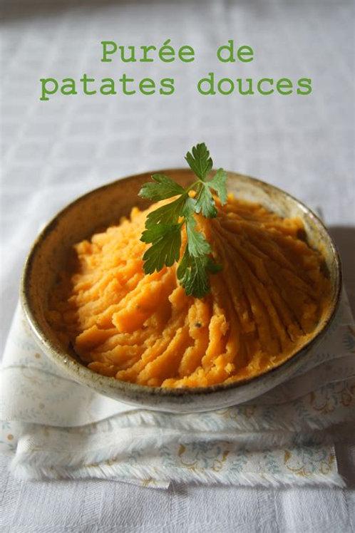 Purée de patates douces pour deux, sans produits laitiers, végane