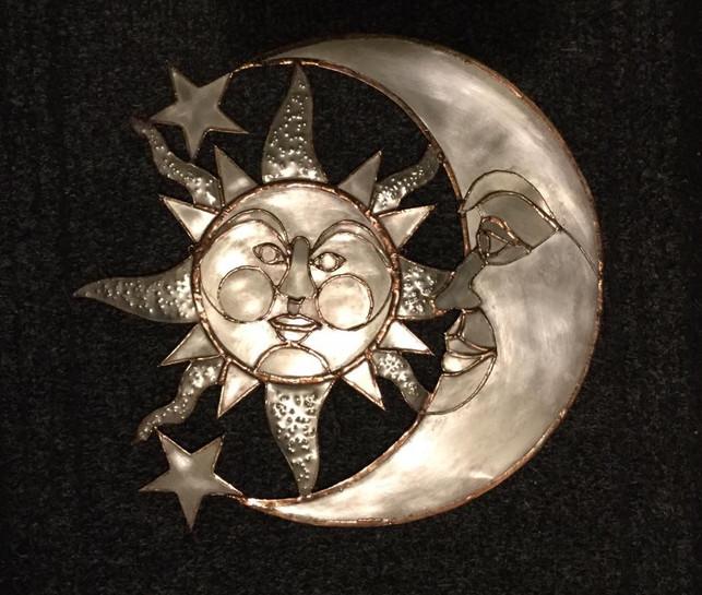 Sun and moon £100