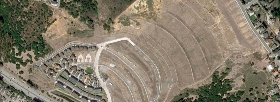 View of Leona Quarry site.