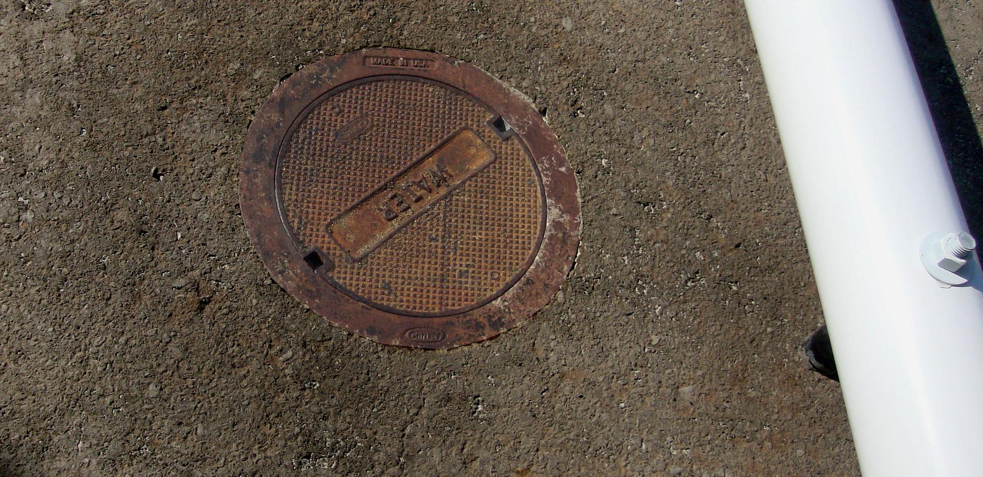 Detail of street fragment.