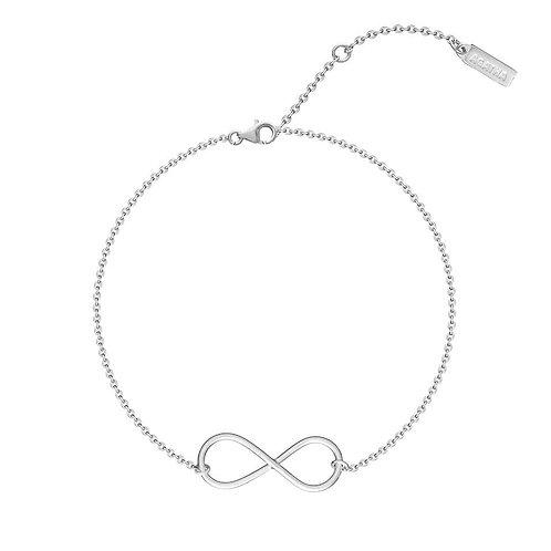 Bracelet infinity silver