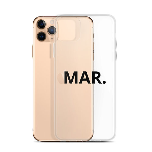 MAR. iPhone Case (All)