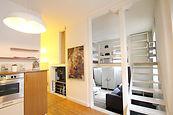 Lumineux appartement F2/3 de charme atypique