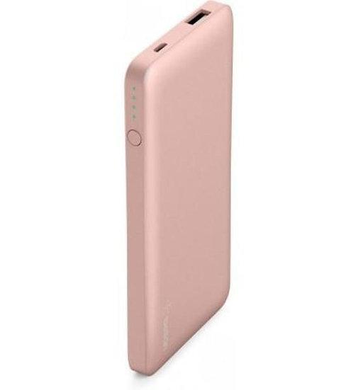 Belkin Pocket Power 5K Power Bank (Aka Portable Charger) – Rose Gold