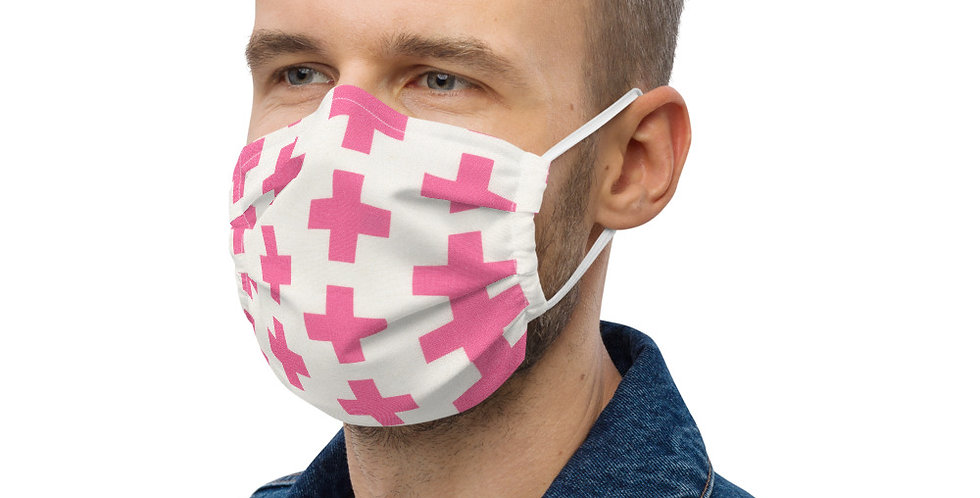 PINK PLUS FACE MASK BY EMMIE K