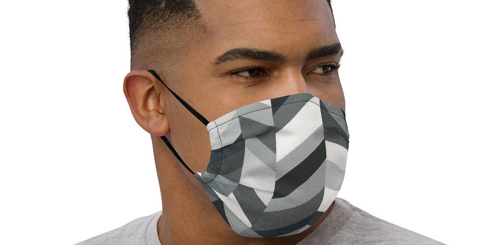GRAY DROP FACE MASK BY EMMIE K
