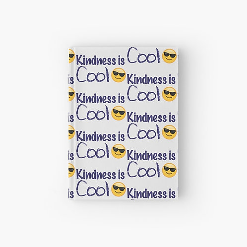 Kindness Is Cool Hardcover Journal