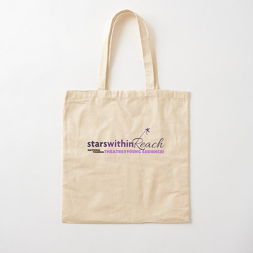 Stars Within Reach Cotton Tote Bag