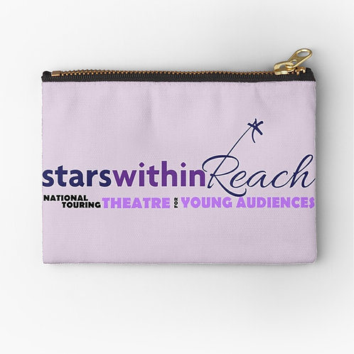 Medium Stars Within Reach Zipper Pouch (9.5 x 6 in.)