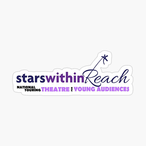 (Set of 2 Medium) Stars Within Reach Stickers