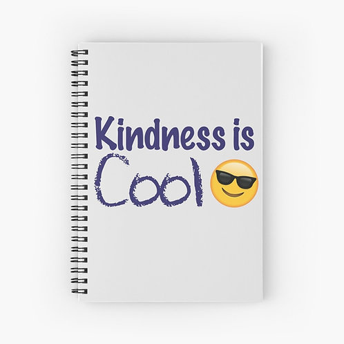 Kindness Is Cool Spiral Notebook