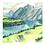 Thumbnail: Lake and Mountains Print