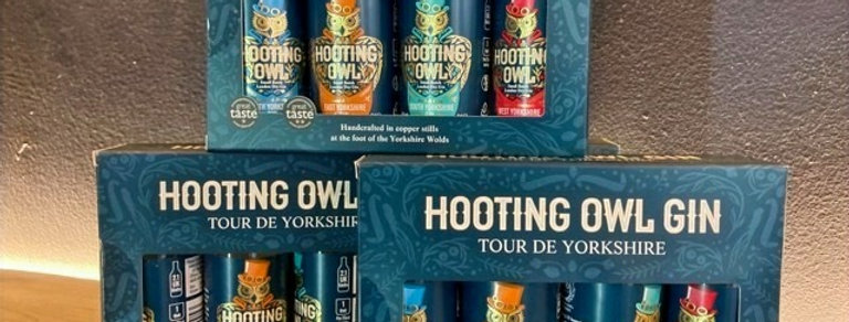 Hooting Owl Gin Tour De Yorkshire Gift Pack