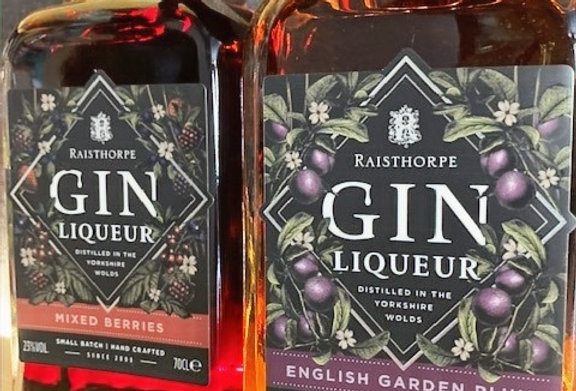 Raisthorpe Gin Liqueur English Garden