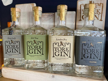 2nd October 2021 10am-2pm - Gin Tasting with York Gin