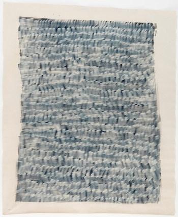 Blue volume I 2018  / acrylic, ink on canvas 240 x 200