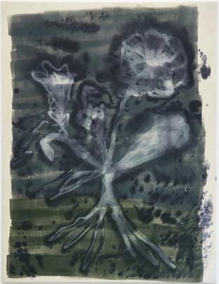 Nightshades II 2019/acrylic and ink on canvas/190 x 145cm Photo: Courtesy of Vigfús Birgisson and BERG Contemporary.